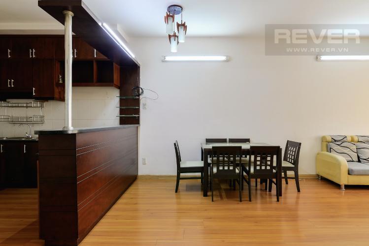 Phòng Ăn Căn hộ Orient Apartment tầng thấp, 2PN, nội thất cơ bản