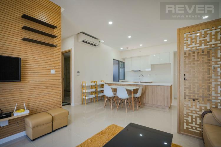 Phòng khách căn hộ PALM HEIGHTS Cho thuê căn hộ Palm Heights 2PN, tầng trung, diện tích 85m2, đầy đủ nội thất, ban công Đông Bắc