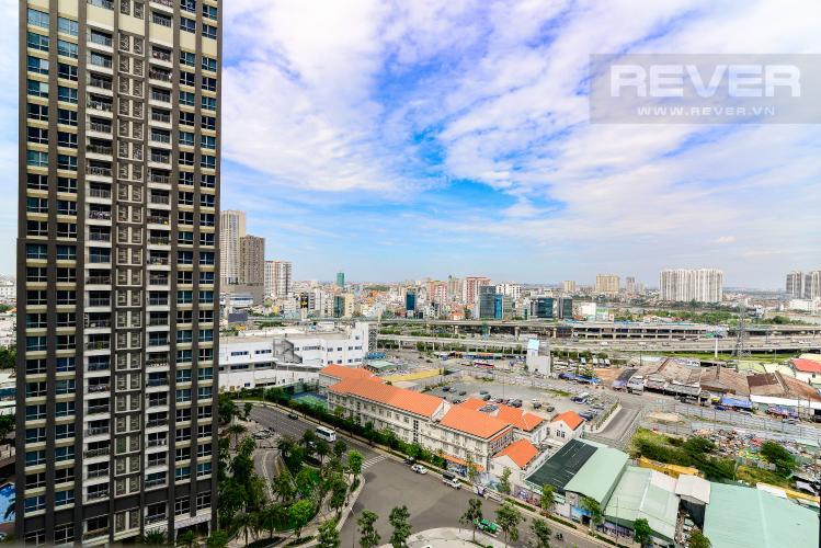 View Căn hộ Vinhomes Central Park tầng trung, tháp Landmark 81, 1PN đầy đủ nội thất
