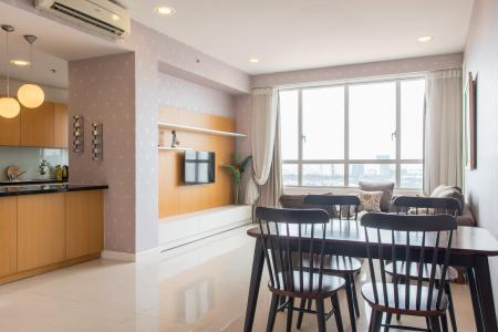 Bán căn hộ Sunrise City 2PN, tháp V2 khu South, đầy đủ nội thất, view sông thoáng đãng