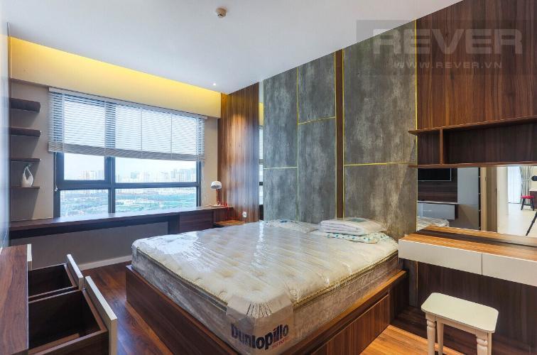 Phòng Ngủ 3 Căn hộ Diamond Island - Đảo Kim Cương tầng cao, 3PN đầy đủ nội thất, view hồ bơi