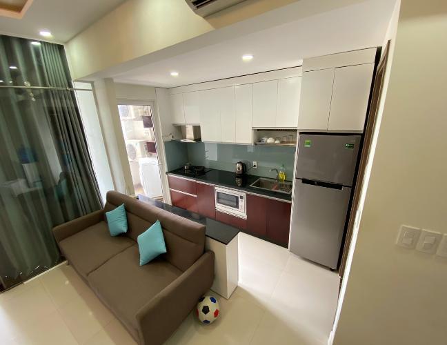 Phòng bếp  Lexington Residence Quận 2 Căn hộ Lexington Residence view thành phố, đầy đủ nội thất.