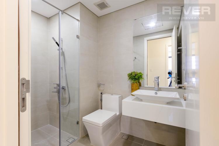 Toilet Căn hộ Masteri Millennium tầng cao, 1PN, đầy đủ nội thất, view đẹp