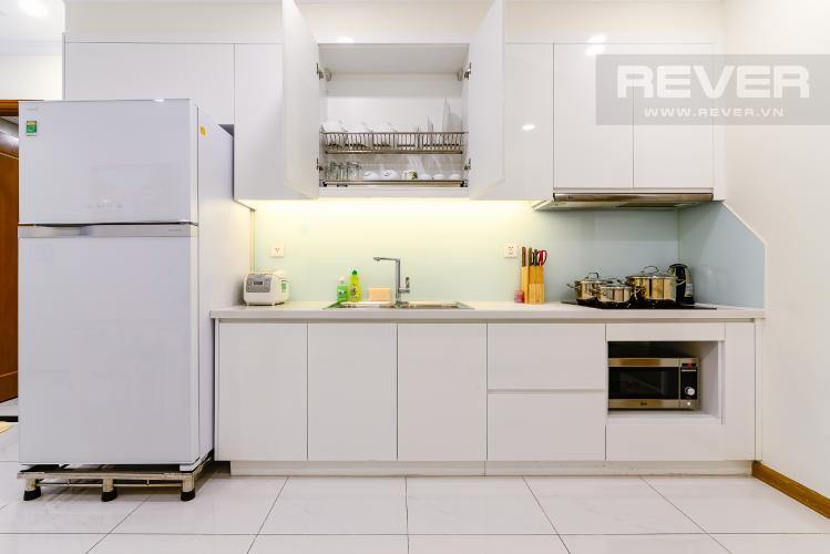 Nhà Bếp Cho thuê căn hộ Vinhomes Central Park 50.5m2 1PN 1WC, nội thất tiện nghi, view hồ bơi