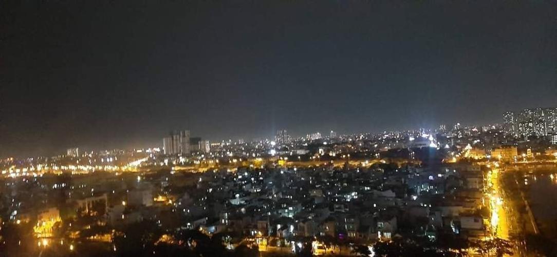 View căn hộ Green River Căn hộ Green River hướng Đông Nam, view thành phố cực thoáng mát.