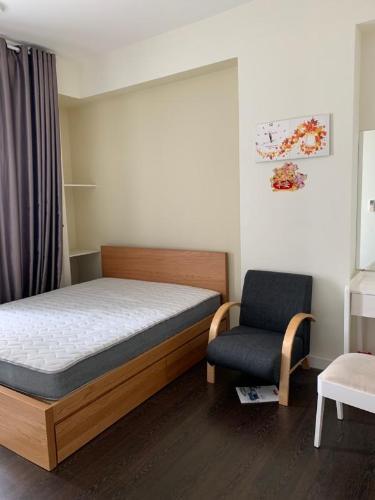 Cho thuê căn hộ RiverGate Residence 3PN, tháp B, đầy đủ nội thất, hướng ban công Tây Nam