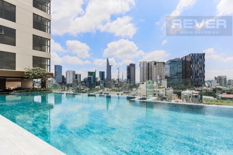 Hồ Bơi Căn hộ Masteri Millennium tầng cao, 2 phòng ngủ, view sông Bến Vân Đồn