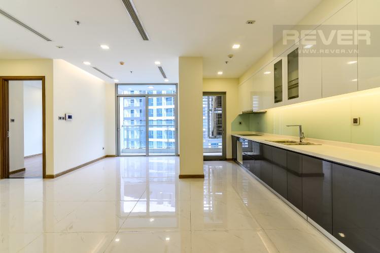 Phòng Khách Căn hộ Vinhomes Central Park tầng cao 3PN view sông Sài Gòn