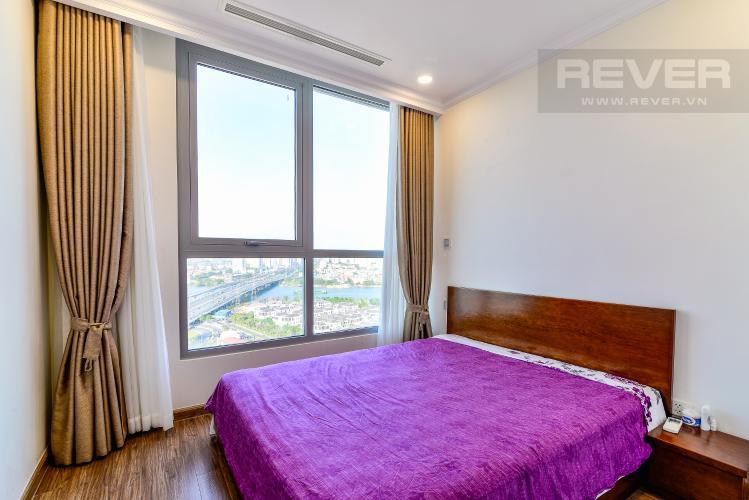 Phòng Ngủ 2 Căn hộ Vinhomes Central Park 2 phòng ngủ tầng cao L6 nội thất đầy đủ