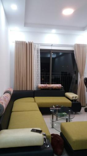 sofa phòng khách The Sun Avenue Căn hộ The Sun Avenue đầy đủ nội thất, căn góc hướng Đông Nam.