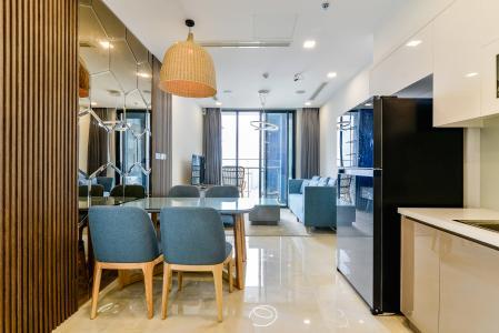 Căn hộ  Vinhomes Golden River tầng cao 1 phòng ngủ, 55m2, full nội thất