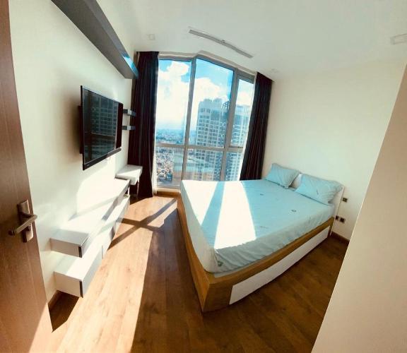 Phòng ngủ Căn hộ Vinhomes Central  Park Căn hộ Vinhomes Central Park đầy đủ nội thất, view thành phố sầm uất.
