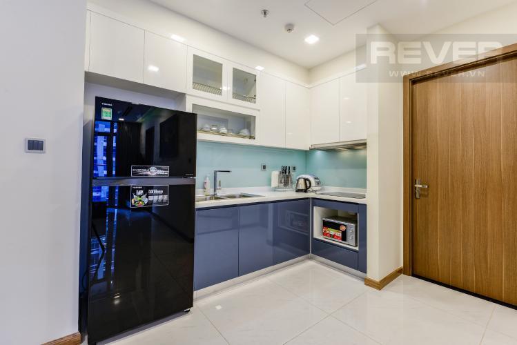 Bếp Bán căn hộ Vinhomes Central Park 2PN tầng trung, view sông, đầy đủ nội thất