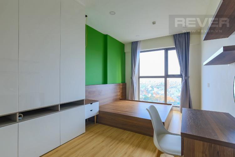 Phòng Ngủ 1 Cho thuê căn hộ Masteri Millennium tầng trung 2PN đầy đủ nội thất