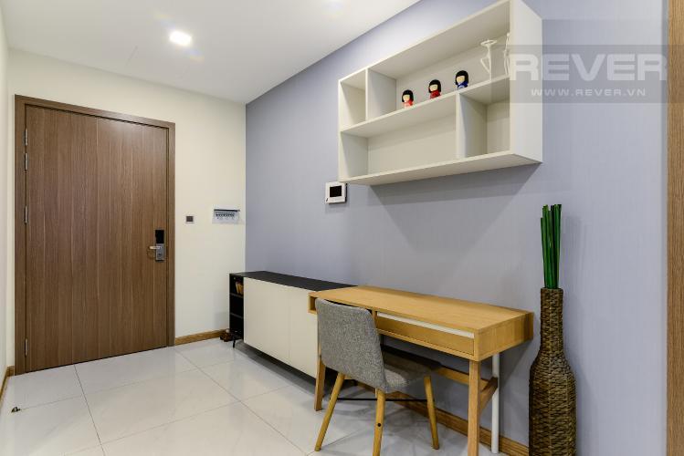 Nơi Làm Việc Cho thuê căn hộ Vinhomes Central Park tháp Park 1 tầng trung, 2PN đầy đủ nội thất