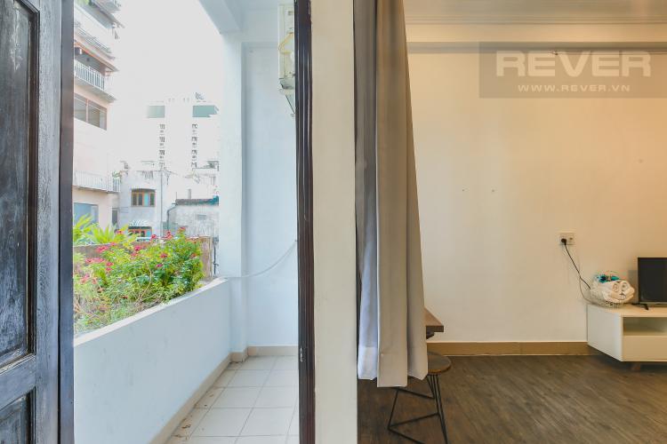 Balcony Căn hộ dịch vụ 1 phòng ngủ Đường Mai Thị Lựu diện tích 36m2