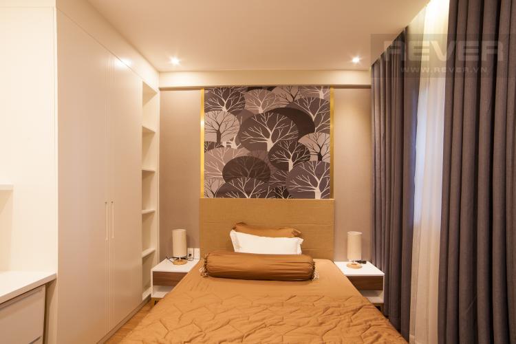 Phòng ngủ 2 Căn hộ The Gold View 2 phòng ngủ tầng thấp tháp B nội thất đầy đủ