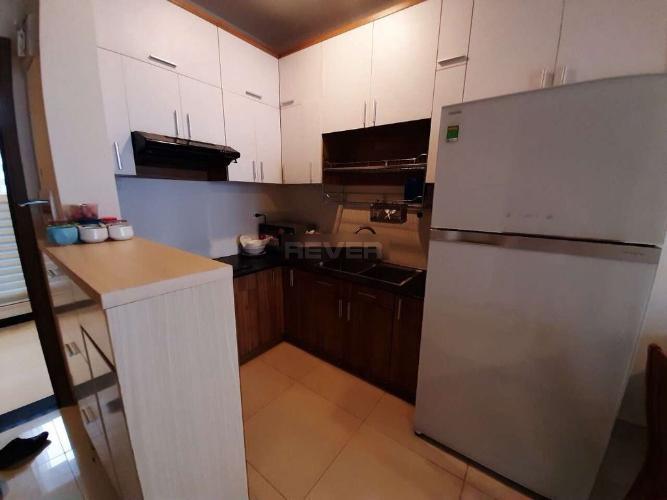 Phòng bếp căn hộ Prosper Plaza, Quận 12 Căn hộ Prosper Plaza nội thất cơ bản, view thành phố sầm uất.