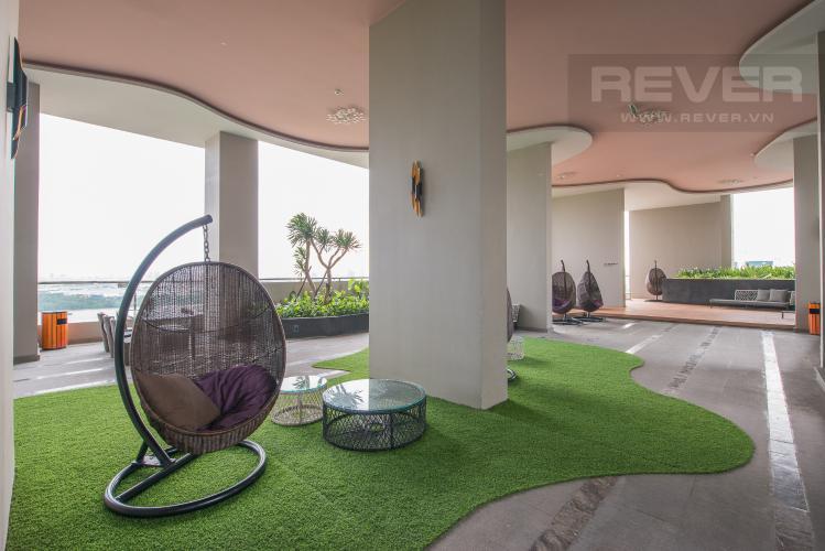 Khu sân vườn Căn hộ Vista Verde 2 phòng ngủ tầng thấp Orchid view nội khu