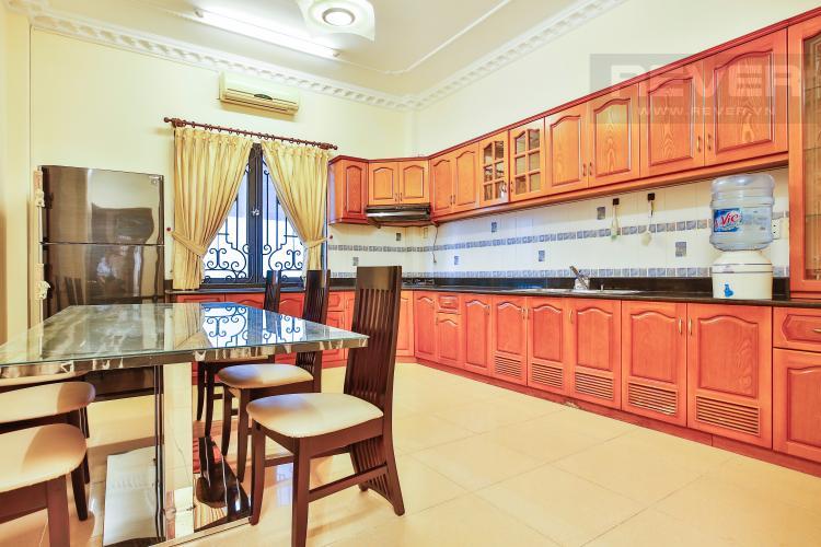 Phòng bếp Nhà phố đường số 9 thiết kế đẹp, nội thất sang trọng