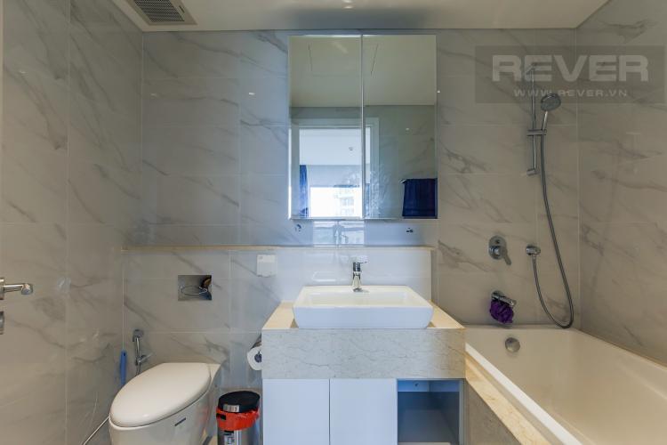 Phòng Tắm 1 Bán căn hộ Diamond Island - Đảo Kim Cương 2PN, tháp Maldives, đầy đủ nội thất, view nội khu