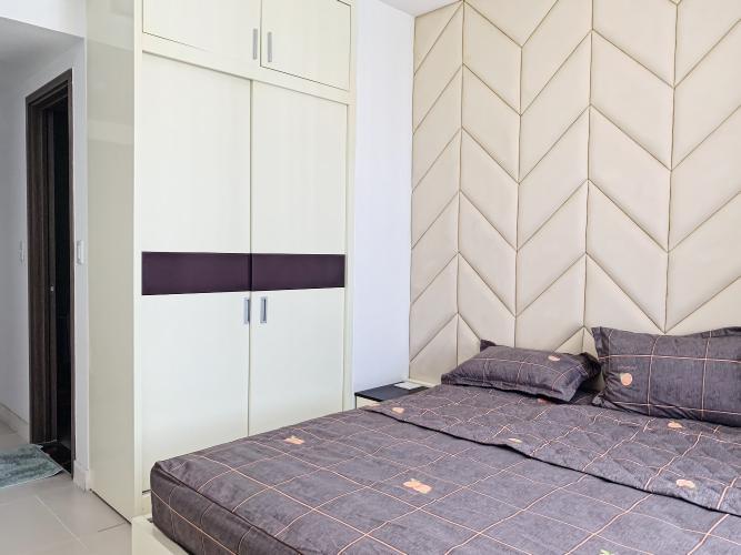 Phòng ngủ Master căn hộ LEXINGTON RESIDENCE Bán hoặc cho thuê căn hộ Lexington Residence 3PN, tầng cao, tháp LA, đầy đủ nội thất, view nội khu