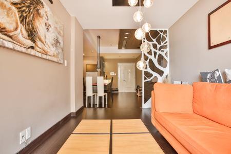 Căn góc chung cư Khánh Hội 3 tầng cao 2 phòng ngủ đầy đủ nội thất