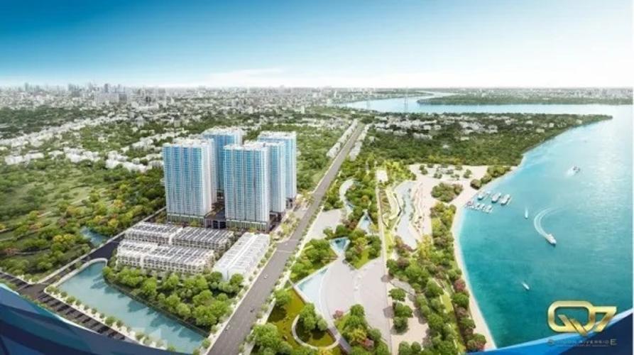 Bán căn hộ Q7 Saigon Riverside 2 phòng ngủ, diện tích 69m2, nội thất cơ bản