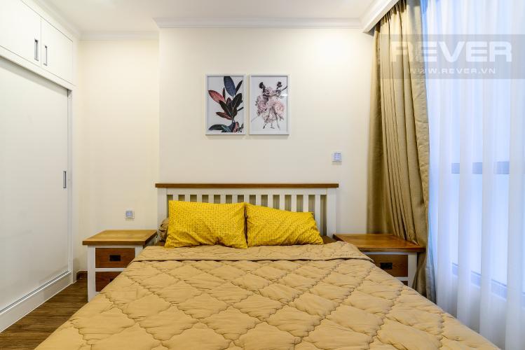 Phòng Ngủ Căn hộ Vinhomes Central Park 1 phòng ngủ tầng trung L6 hướng Tây Nam