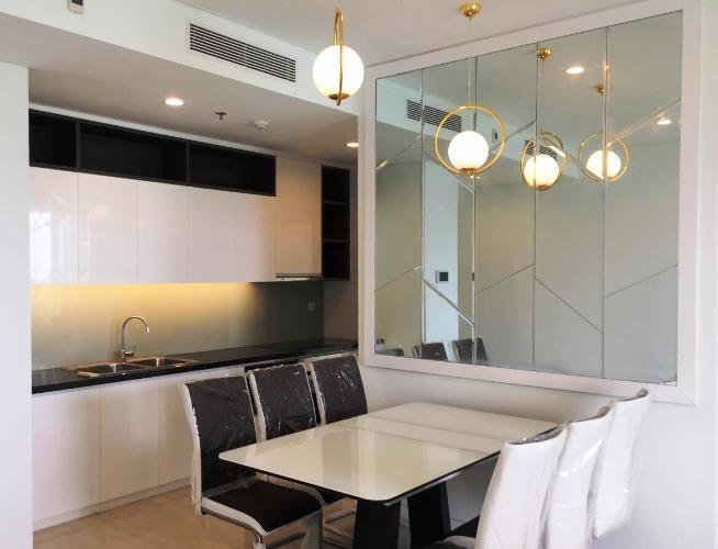 Phòng bếp Sadora Apartment, Quận 2 Căn hộ Sadora Apartment tầng trung, view thành phố lung linh.