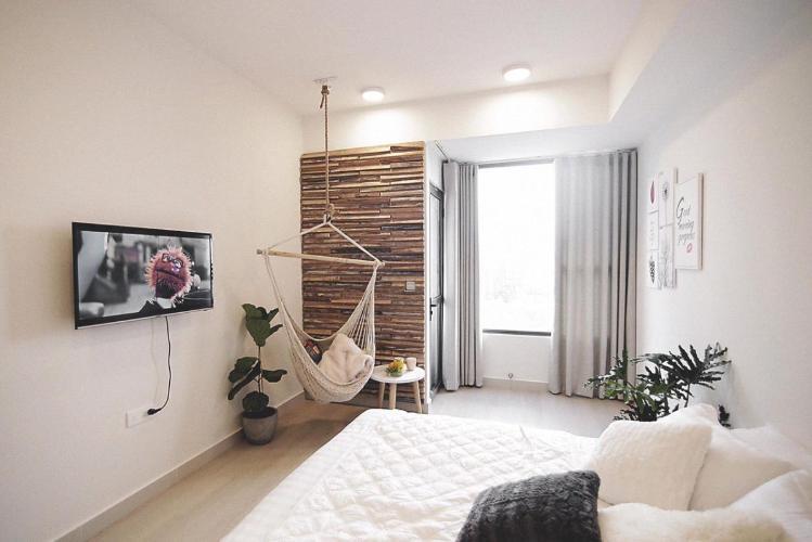 Căn hộ RiverGate Residence tầng trung, thiết kế studio hiện đại.