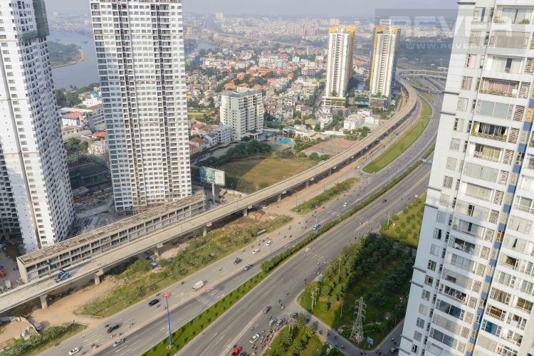 View Căn hộ Cantavil Premier tầng cao, 4PN đầy đủ nội thất