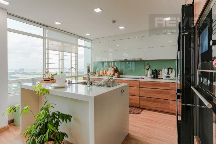 Phòng Bếp Căn hộ Phú Hoàng Anh tầng cao, tháp B, full nội thất