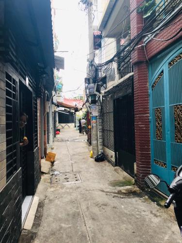 hẻm 2 m nhà phố quận 4 Nhà phố hẻm Đoàn Văn Bơ diện tích 3.14m x19.7m