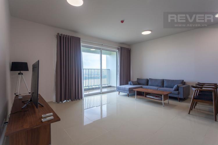 Phòng Khách Căn hộ Vista Verde tầng cao, tháp Orchid, 3 phòng ngủ, view sông trực diện
