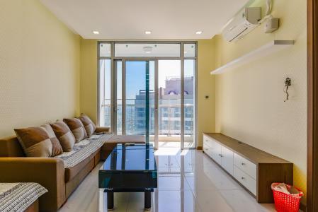 Officetel Vinhomes Central Park 1 phòng ngủ tầng cao P7 nội thất đầy đủ