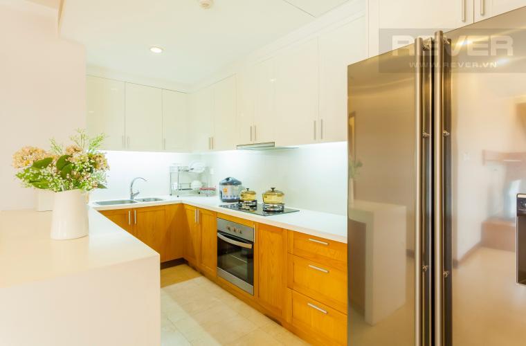 Bếp đầy đủ tiện nghi Căn hộ Saigon Pavillon 3 phòng ngủ ngay trung tâm