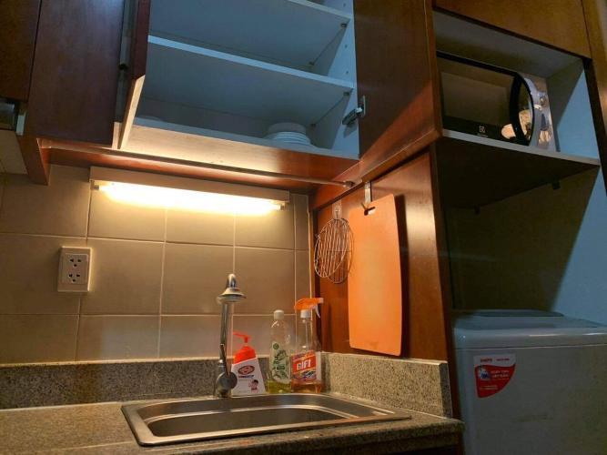 Nhà bếp The Manor Quận Bình Thạnh Căn hộ Studio The Manor đầy đủ nội thất, view thoáng mát.