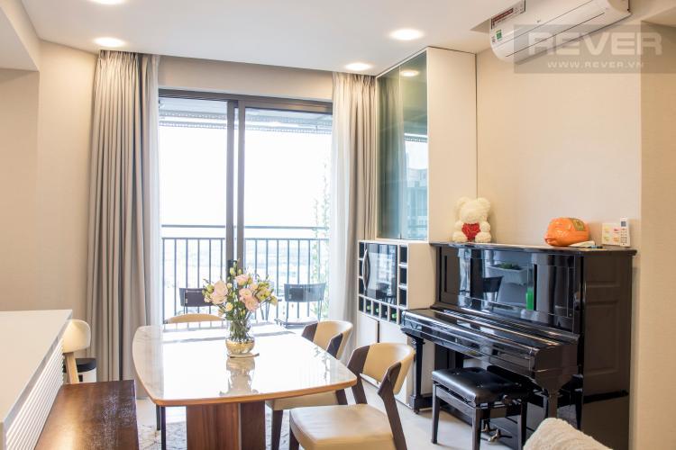 Phòng Ăn Bán căn hộ RiverGate Residence 2PN, tầng cao, đầy đủ nội thất, view sông Sài Gòn