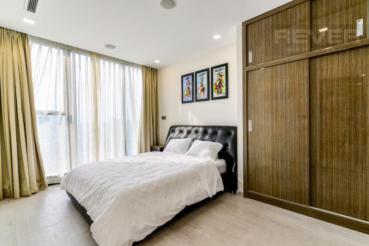 Phòng Ngủ 1 Căn hộ Vinhomes Golden River 3 phòng ngủ tầng trung A4 hướng Tây Nam