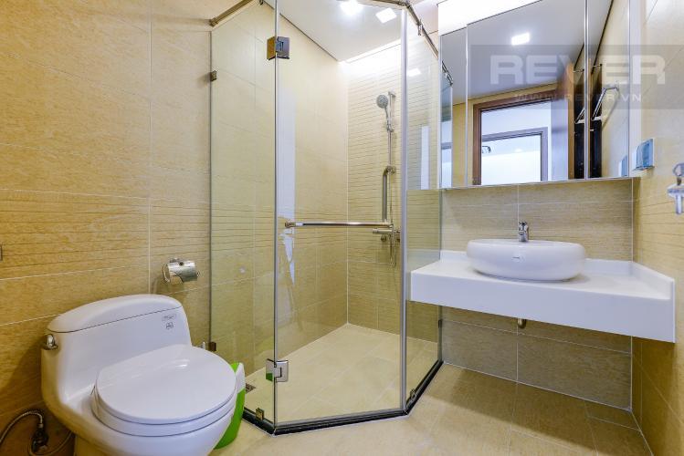 Phòng tắm 2 Cho thuê căn hộ Vinhomes Central Park tầng trung, 2PN, đầy đủ nội thất, view đẹp