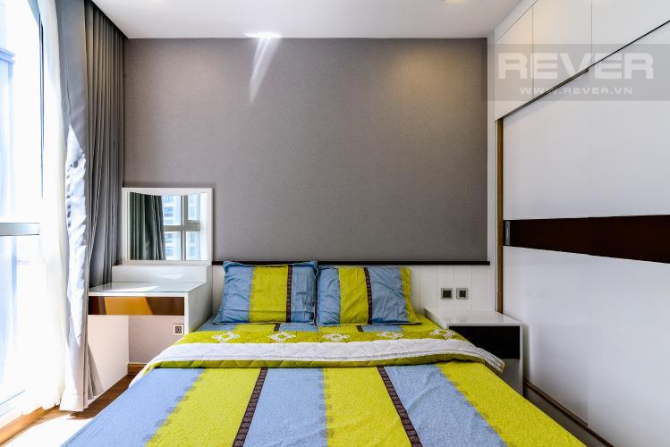 Phòng Ngủ 2 Căn hộ Vinhomes Central Park 2 phòng ngủ tầng trung P7 hướng Đông Nam