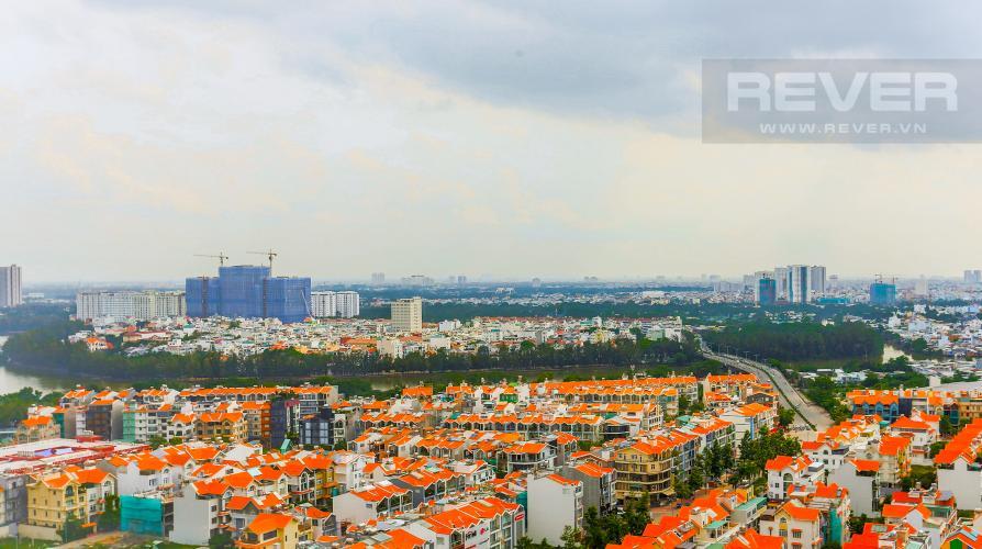 View Căn hộ Sunrise City tầng trung, tháp W3, 2 phòng ngủ, full nội thất