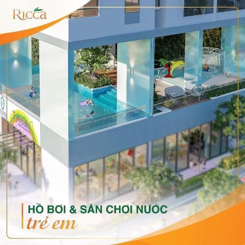 Tiện ích dự án RICCA Bán căn hộ Ricca 2PN, tầng 11, tháp B, diện tích 71m2, chưa bàn giao