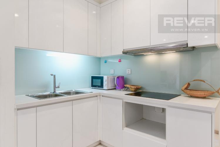 Nhà Bếp Căn hộ Vinhomes Central Park 2 phòng ngủ tầng cao C3 view nội khu