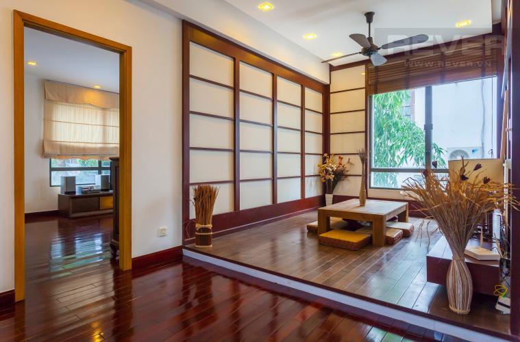 Phòng khách 2 Villa Compound Riviera Quận 2 thiết kế sang trọng, đầy đủ tiện nghi