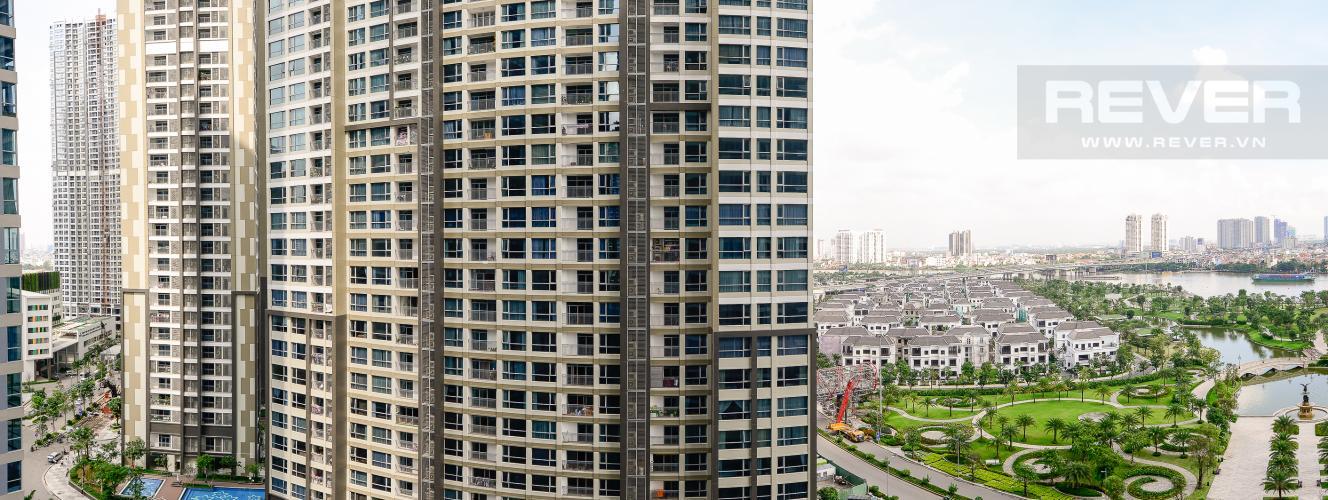 View Căn góc Vinhomes Central Park 3 phòng ngủ tầng trung Park 5