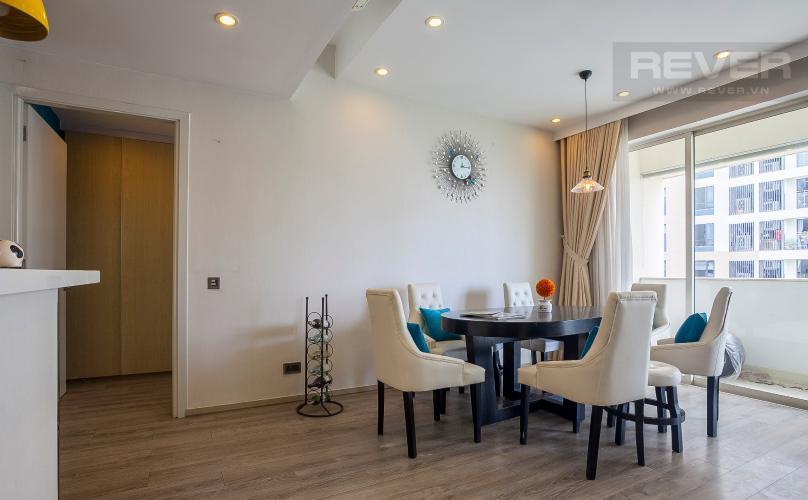 Bàn Ăn Căn hộ Estella Residence 3 phòng ngủ tầng cao 4A đầy đủ nội thất