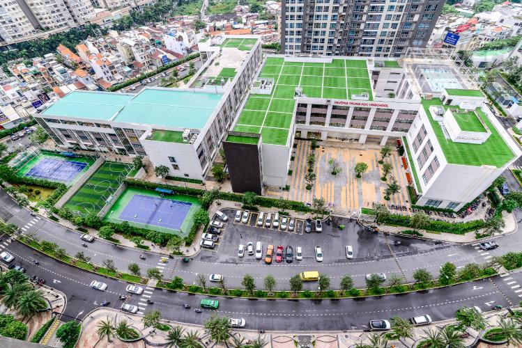 View Bán và cho thuê căn hộ Vinhomes Central Park tầng cao 2PN đầy đủ nội thất
