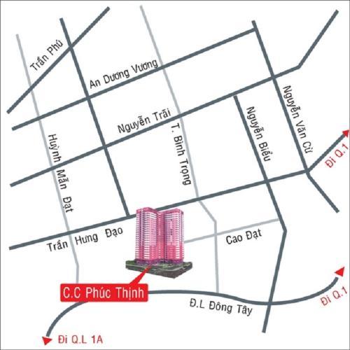 KHU CHUNG CƯ PHÚC THỊNH - Vị trí khu chung cư Phúc Thịnh